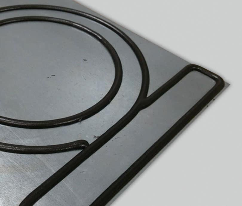 Dépose joint sur pièce métal